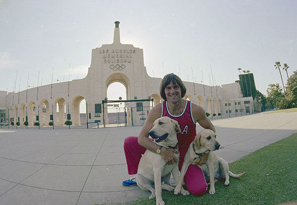 "<div class=""meta image-caption""><div class=""origin-logo origin-image none""><span>none</span></div><span class=""caption-text"">Jenner poses outside the Los Angeles Memorial Coliseum with Jenner's dogs in 1978. (AP Photo/Jeff Robbins)</span></div>"
