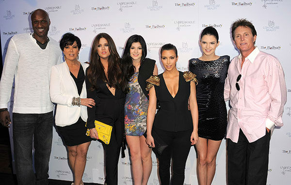 "<div class=""meta image-caption""><div class=""origin-logo origin-image none""><span>none</span></div><span class=""caption-text"">Members of the Kardashian family pose in 2011. From left to right: Lamar Odom, Kris Jenner, Khloe Kardashian, Kylie Jenner,  Kim Kardashian, Kendall Jenner and Bruce Jenner. (AP Photo/Jordan Strauss)</span></div>"