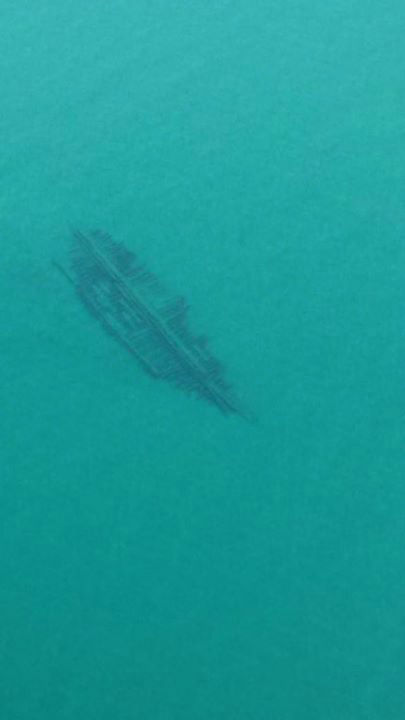 "<div class=""meta image-caption""><div class=""origin-logo origin-image none""><span>none</span></div><span class=""caption-text"">A U.S. Coast Guard helicopter was a on a routine patrol when the crew spotted shipwrecks  in northern Lake Michigan and got pictures of them. (Photo/U.S. Coast Guard)</span></div>"