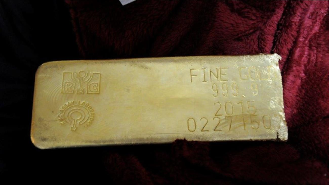 Stolen gold bar found in Florida