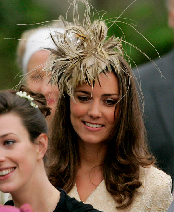 <div class='meta'><div class='origin-logo' data-origin='AP'></div><span class='caption-text' data-credit='AP'>Kate Middleton leaves St Cyriac's Church, in Lacock, Wiltshire, England, Saturday May 6, 2006.</span></div>