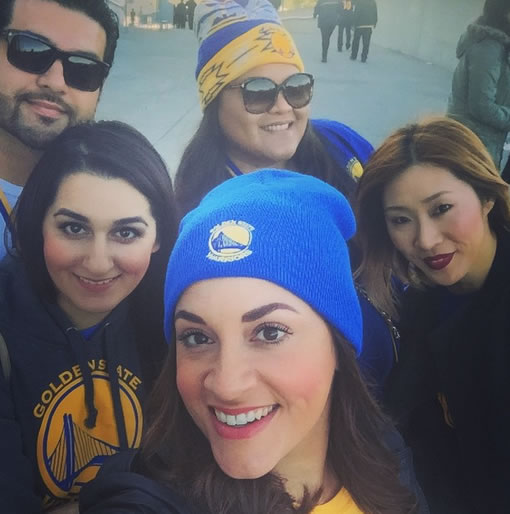 <div class='meta'><div class='origin-logo' data-origin='none'></div><span class='caption-text' data-credit='Photo sent to KGO-TV by SpicyBrains/Instagram'>Golden State Warriors fans are showing off their #DubNation pride! Tag your photos on Facebook, Twitter, Google Plus, or Instagram using #DubsOn7!</span></div>