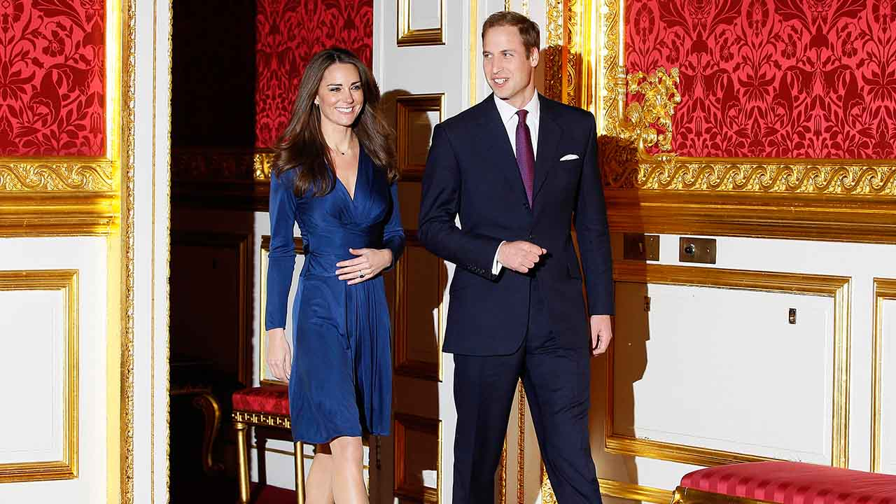 "<div class=""meta image-caption""><div class=""origin-logo origin-image ap""><span>AP</span></div><span class=""caption-text"">Britain's Prince William and his fiancee Kate Middleton at St. James's Palace in London, Tuesday Nov. 16, 2010, after they announced their engagement. (AP)</span></div>"