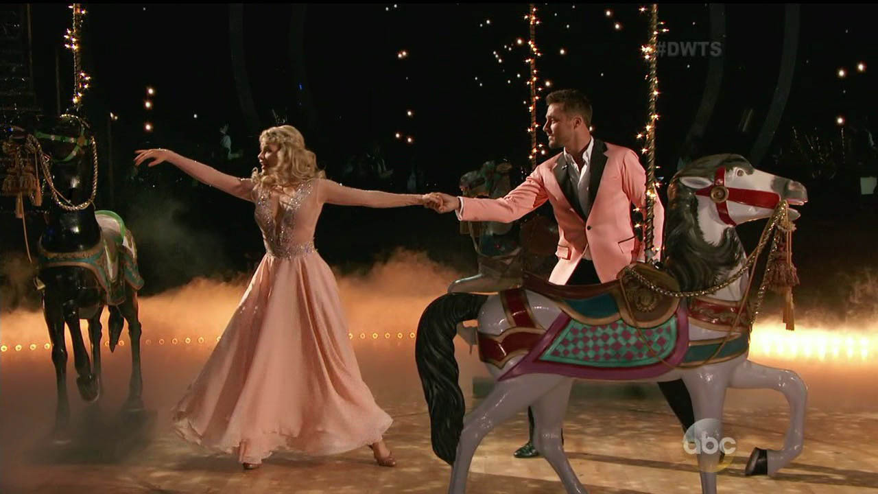 Chris Soules and Witney Carson dance the Viennese Waltz on week 6 of 'Dancing With The Stars.'