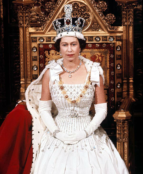 "<div class=""meta image-caption""><div class=""origin-logo origin-image none""><span>none</span></div><span class=""caption-text"">Britain's Queen Elizabeth II during the State Opening of Parliament, London, England, in April 1966. (AP)</span></div>"
