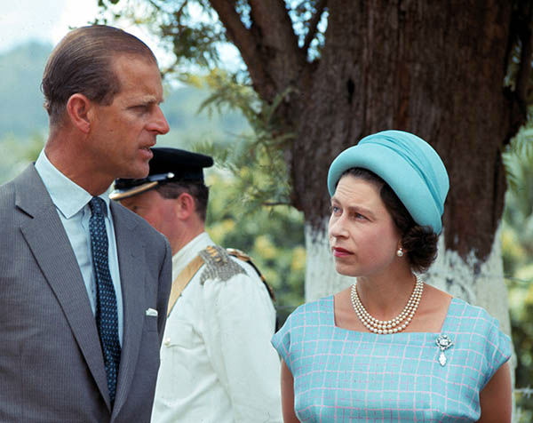 "<div class=""meta image-caption""><div class=""origin-logo origin-image none""><span>none</span></div><span class=""caption-text"">Britain's Queen Elizabeth II and her husband Prince Philip are seen during their visit to the British Virgin Islands, Feb. 23, 1966. (AP Photo/ XEP MH)</span></div>"