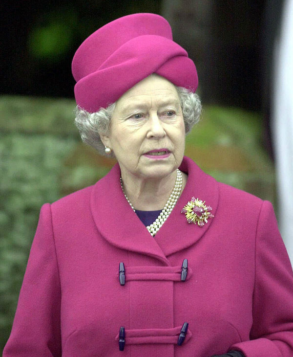 "<div class=""meta image-caption""><div class=""origin-logo origin-image none""><span>none</span></div><span class=""caption-text"">Britain's Queen Elizabeth II at a Sunday church service at St. Mary Magdalene Church in Sandringham, England Sunday, December 24, 2000. (AP)</span></div>"