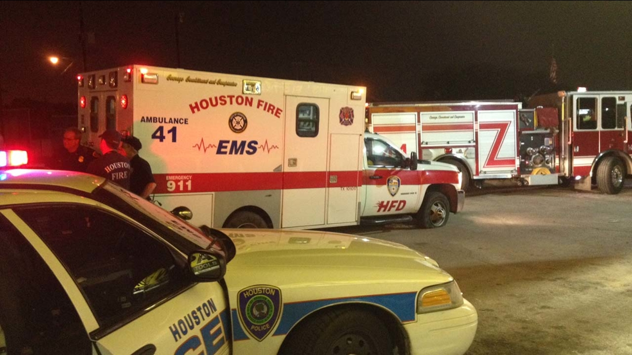 Police say a man stole an ambulance in east Houston