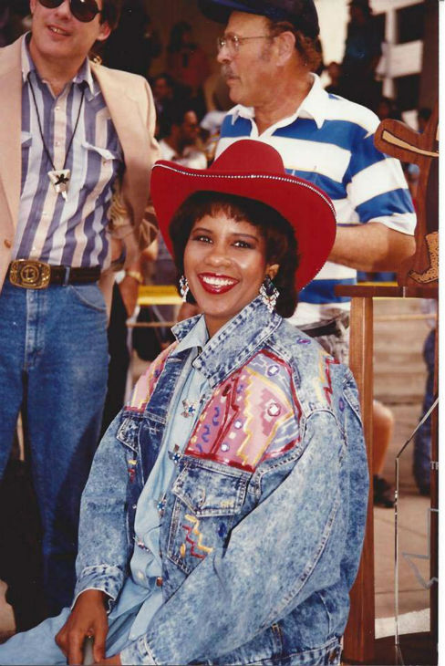 <div class='meta'><div class='origin-logo' data-origin='none'></div><span class='caption-text' data-credit='KTRK Photo'>Melanie Lawson at the Rodeo years ago</span></div>