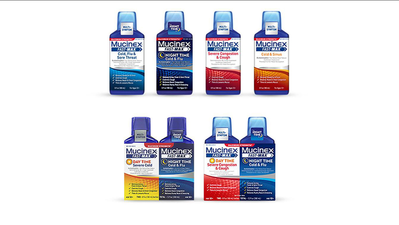 These Mucinex products were recalled after some liquid bottles were mislabeled.