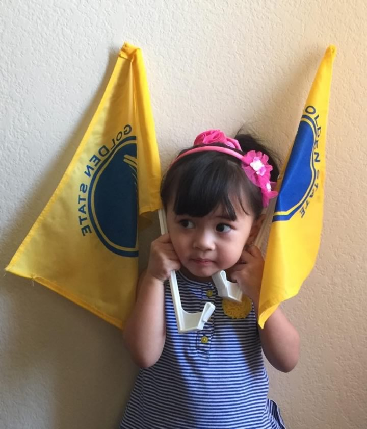 <div class='meta'><div class='origin-logo' data-origin='none'></div><span class='caption-text' data-credit='Photo sent to KGO-TV by Lowella P./uReport'>Golden State Warriors fans are showing off their #DubNation pride! Tag your photos on Facebook, Twitter, Google Plus, or Instagram using #DubsOn7!</span></div>