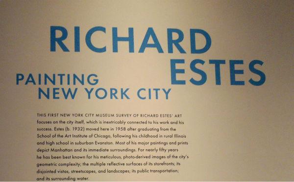 "<div class=""meta image-caption""><div class=""origin-logo origin-image none""><span>none</span></div><span class=""caption-text"">Works of Richard Estes on display at NYC museum (Christina Zapata)</span></div>"