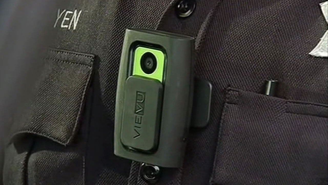 Generic police body camera from Oakland, Calif.
