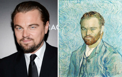 <div class='meta'><div class='origin-logo' data-origin='none'></div><span class='caption-text' data-credit='Photo/Benedicte Lacroix'>Leonardo DiCaprio in ''Autoportrait'' by Vincent Van Gogh</span></div>
