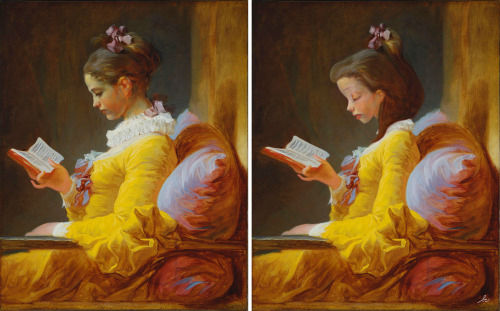 <div class='meta'><div class='origin-logo' data-origin='none'></div><span class='caption-text' data-credit='Photo/Benedicte Lacroix'>Belle from ''Beauty and the Beast'' in ''A Young Girl Reading'' by Jean-Honore Fragonard</span></div>