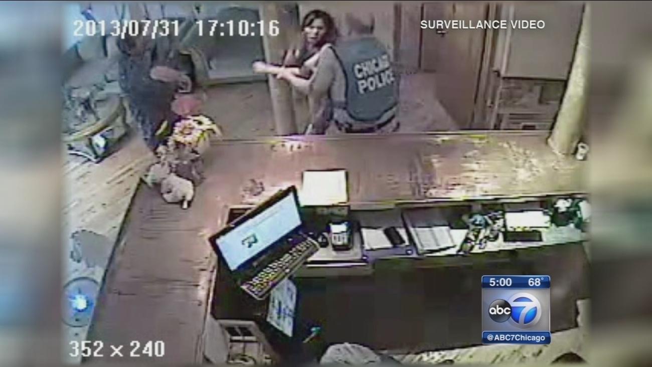 West Side salon owner alleges police abuse