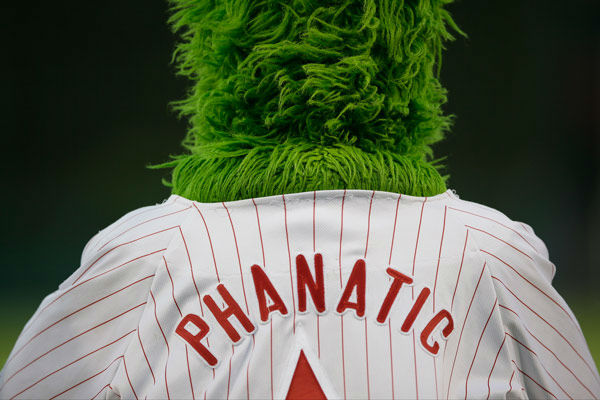 <div class='meta'><div class='origin-logo' data-origin='none'></div><span class='caption-text' data-credit='AP Photo/ Matt Slocum'>The Phillie Phanatic stands during the playing of the national anthem before a baseball game against the Washington Nationals, Tuesday, Sept. 3, 2013, in Philadelphia.</span></div>