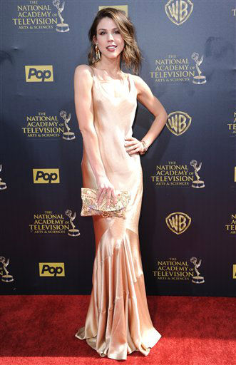 "<div class=""meta image-caption""><div class=""origin-logo origin-image none""><span>none</span></div><span class=""caption-text"">Kate Mansi arrives at the 42nd annual Daytime Emmy Awards at Warner Bros. Studios on Sunday, April 26, 2015, in Burbank, Calif. (Photo by Richard Shotwell/Invision/AP) (AP Photo)</span></div>"