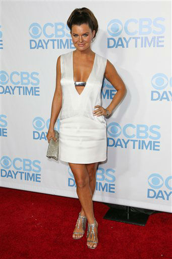 "<div class=""meta image-caption""><div class=""origin-logo origin-image none""><span>none</span></div><span class=""caption-text"">Heather Tom arrives at the 2015 Daytime Emmy Awards CBS After Party at The Hollywood Athletic Club on Sunday, April 26, 2015, in Los Angeles. (Photo by Rich Fury/Invision/AP) (AP Photo)</span></div>"