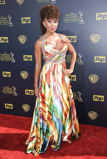 "<div class=""meta image-caption""><div class=""origin-logo origin-image none""><span>none</span></div><span class=""caption-text"">Zee James arrives at the 42nd annual Daytime Emmy Awards at Warner Bros. Studios on Sunday, April 26, 2015, in Burbank, Calif. (Photo by Richard Shotwell/Invision/AP) (AP Photo)</span></div>"
