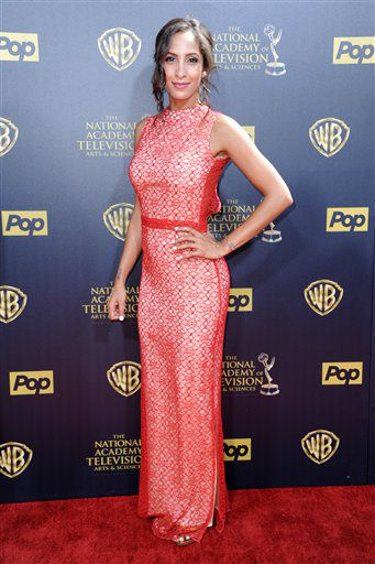 "<div class=""meta image-caption""><div class=""origin-logo origin-image none""><span>none</span></div><span class=""caption-text"">Christel Khalil arrives at the 42nd annual Daytime Emmy Awards at Warner Bros. Studios on Sunday, April 26, 2015, in Burbank, Calif. (Photo by Richard Shotwell/Invision/AP) (AP Photo)</span></div>"