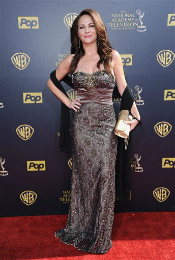 "<div class=""meta image-caption""><div class=""origin-logo origin-image none""><span>none</span></div><span class=""caption-text"">Jade Harlow arrives at the 42nd annual Daytime Emmy Awards at Warner Bros. Studios on Sunday, April 26, 2015, in Burbank, Calif. (Photo by Richard Shotwell/Invision/AP) (AP Photo)</span></div>"
