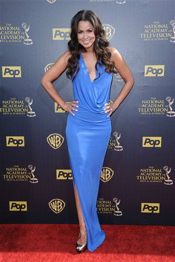 "<div class=""meta image-caption""><div class=""origin-logo origin-image none""><span>none</span></div><span class=""caption-text"">Tracey Edmonds arrives at the 42nd annual Daytime Emmy Awards at Warner Bros. Studios on Sunday, April 26, 2015, in Burbank, Calif. (Photo by Richard Shotwell/Invision/AP) (AP Photo)</span></div>"