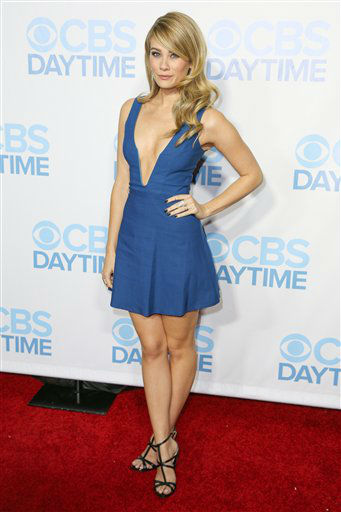 "<div class=""meta image-caption""><div class=""origin-logo origin-image none""><span>none</span></div><span class=""caption-text"">Kim Matula arrives at the 2015 Daytime Emmy Awards CBS After Party at The Hollywood Athletic Club on Sunday, April 26, 2015, in Los Angeles. (Photo by Rich Fury/Invision/AP) (AP Photo)</span></div>"