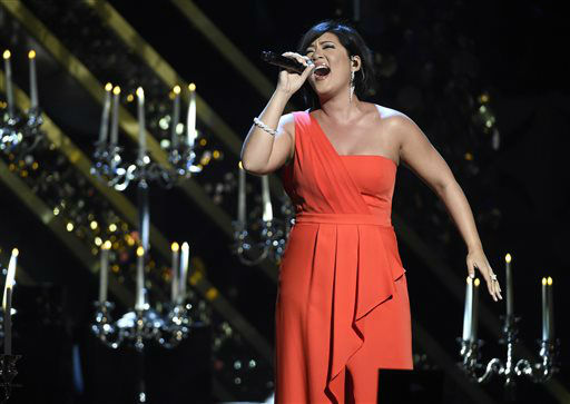 "<div class=""meta image-caption""><div class=""origin-logo origin-image none""><span>none</span></div><span class=""caption-text"">Tessanne Chin performs at the 42nd annual Daytime Emmy Awards at Warner Bros. Studios on Sunday, April 26, 2015, in Burbank, Calif. (Photo by Chris Pizzello/Invision/AP) (AP Photo/ Chris Pizzello)</span></div>"