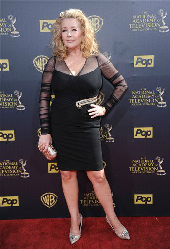 "<div class=""meta image-caption""><div class=""origin-logo origin-image none""><span>none</span></div><span class=""caption-text"">Melody Thomas Scott arrives at the 42nd annual Daytime Emmy Awards at Warner Bros. Studios on Sunday, April 26, 2015, in Burbank, Calif. (Photo by Richard Shotwell/Invision/AP) (AP Photo)</span></div>"