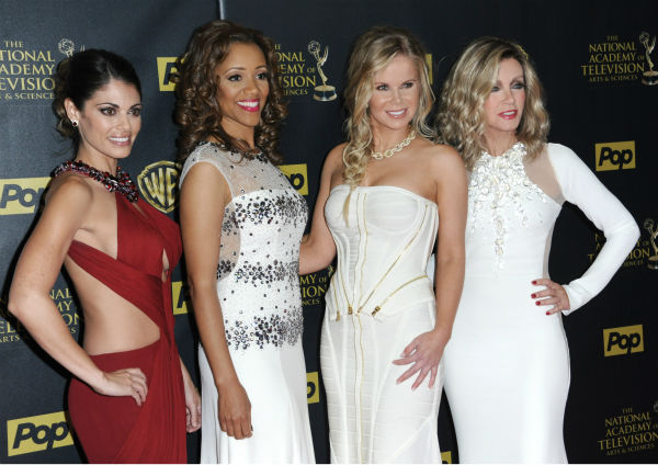 "<div class=""meta image-caption""><div class=""origin-logo origin-image none""><span>none</span></div><span class=""caption-text"">Lindsay Hartley, from left, Chrystee Pharris, Crystal Hunt, and Donna Mills at the 42nd annual Daytime Emmy Awards on April 26, 2015. (Photo by Richard Shotwell/Invision/AP) (AP Photo/ Richard Shotwell)</span></div>"