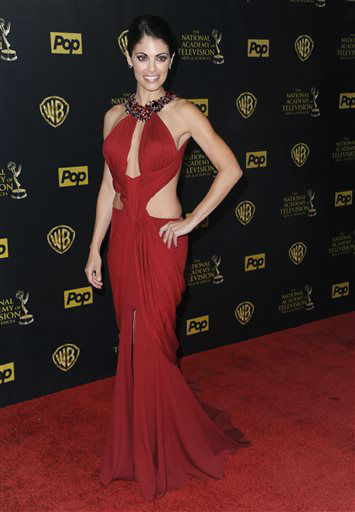 "<div class=""meta image-caption""><div class=""origin-logo origin-image none""><span>none</span></div><span class=""caption-text"">Lindsay Hartley poses in the pressroom at the 42nd annual Daytime Emmy Awards on Sunday, April 26, 2015. (Photo by Richard Shotwell/Invision/AP) (AP Photo/ Richard Shotwell)</span></div>"