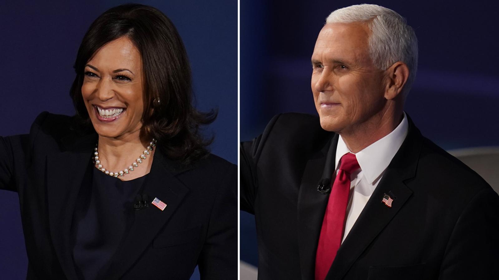 Vice President Mike Pence calls Kamala Harris to offer ...