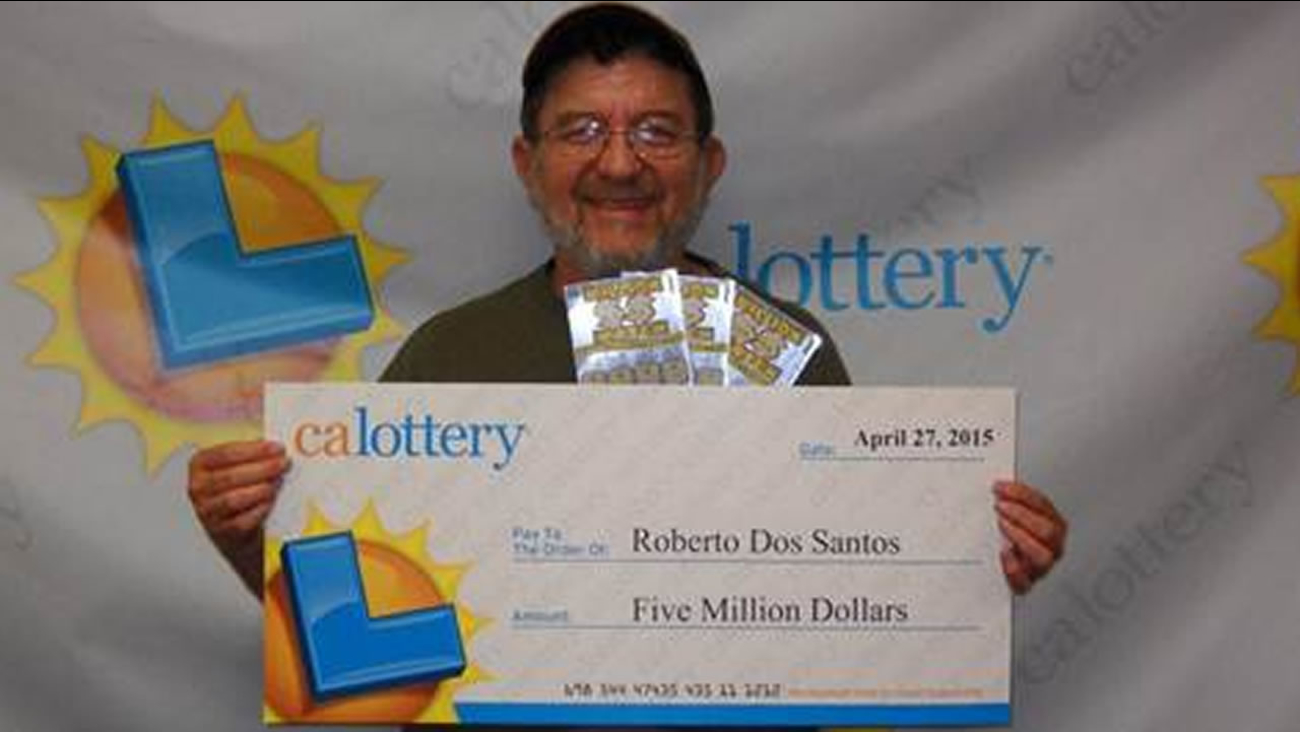 Berkeley man wins $5 million in second lottery win in 2