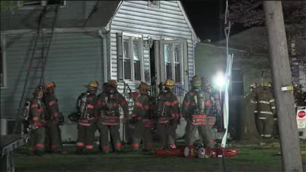 Flames force 3 people from Deptford Twp. home