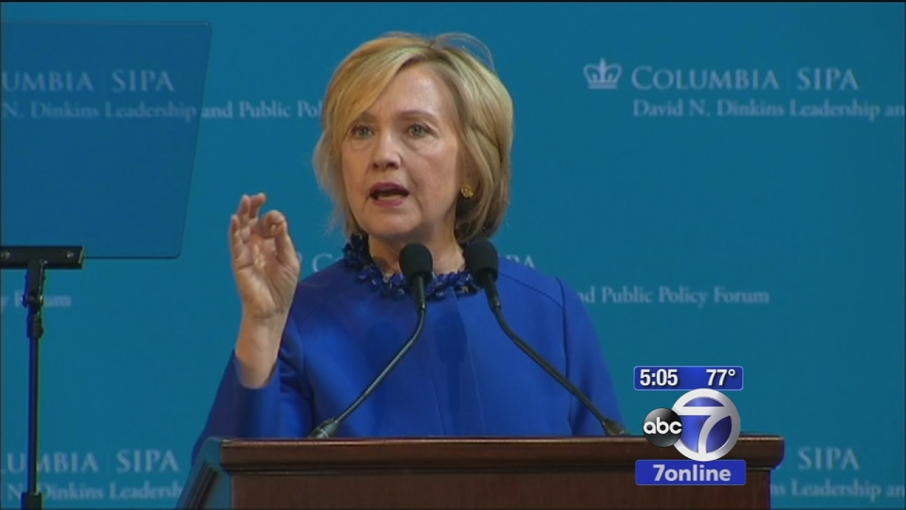 Hillary Clinton outlines criminal justice reform