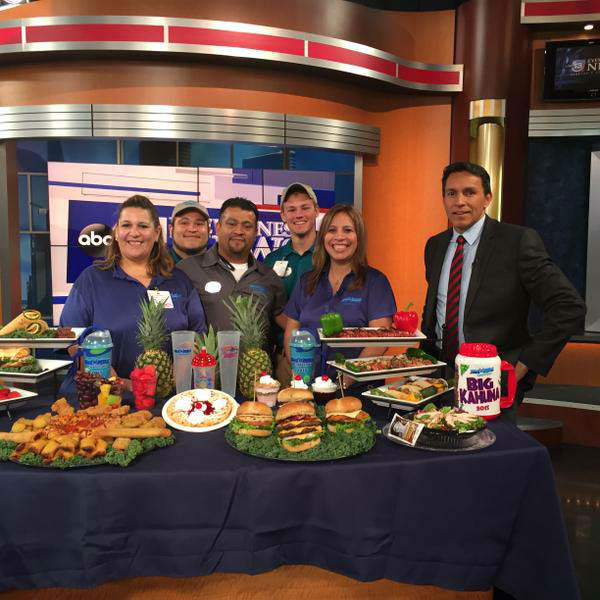 """<div class=""""meta image-caption""""><div class=""""origin-logo origin-image none""""><span>none</span></div><span class=""""caption-text"""">The crew from Wet 'n' Wild SplashTown  stopped by the newsroom (KTRK Photo)</span></div>"""