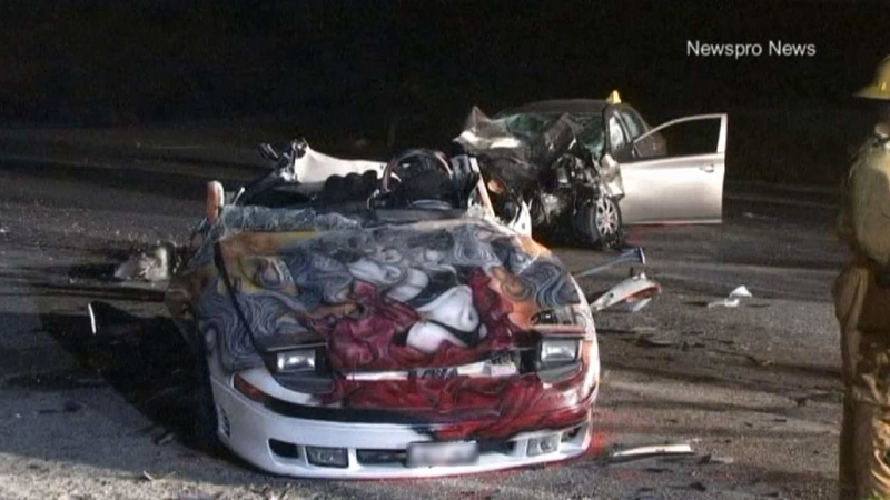 Teenager killed in San Bernardino street-racing crash