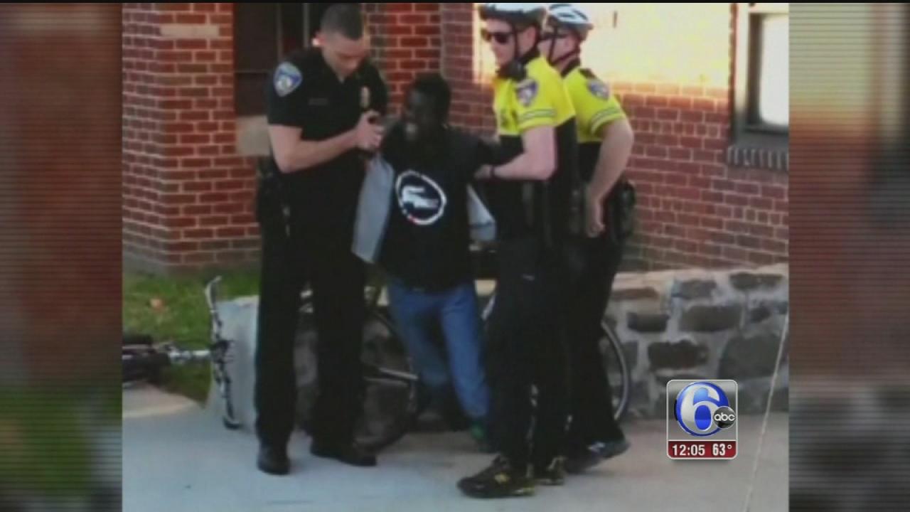 VIDEO: Baltimore calm