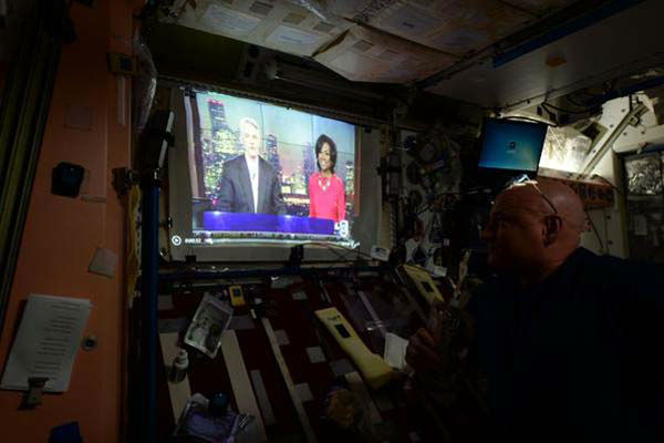 """<div class=""""meta image-caption""""><div class=""""origin-logo origin-image none""""><span>none</span></div><span class=""""caption-text"""">Even Scott Kelly watches ABC-13 in the mornings from space (KTRK Photo)</span></div>"""