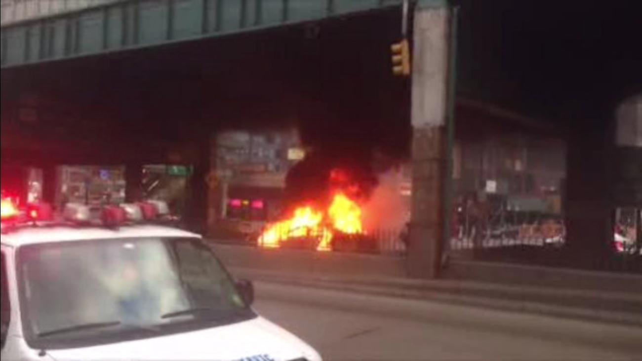 cab fire