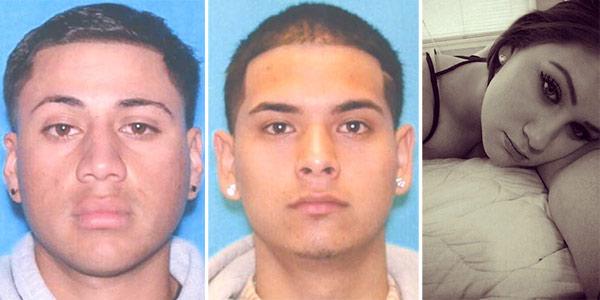 Fabian Garcia, Jr., 19, Armando Herrera, 19, and Alicia Yanonis, 17, are shown in undated photos.