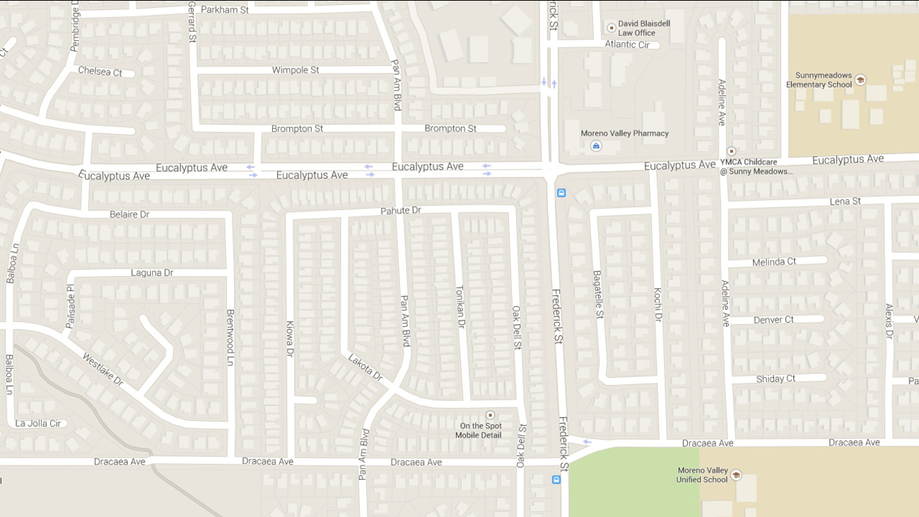This Google Maps shows where a homeowner shot an intruder on Friday, May 1, 2015.