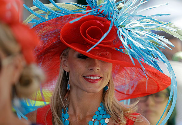 "<div class=""meta image-caption""><div class=""origin-logo origin-image none""><span>none</span></div><span class=""caption-text"">The scene at the Kentucky Derby on Saturday, May 2nd, 2015 (Photo/David J. Phillip)</span></div>"