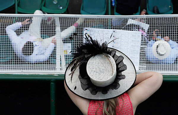 "<div class=""meta image-caption""><div class=""origin-logo origin-image none""><span>none</span></div><span class=""caption-text"">The scene at the Kentucky Derby on Saturday, May 2nd, 2015 (Photo/Charlie Riedel)</span></div>"