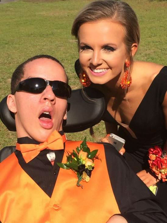 """<div class=""""meta image-caption""""><div class=""""origin-logo origin-image none""""><span>none</span></div><span class=""""caption-text"""">18-year-old Victor Murray attended prom Saturday night (WTVD Photo)</span></div>"""