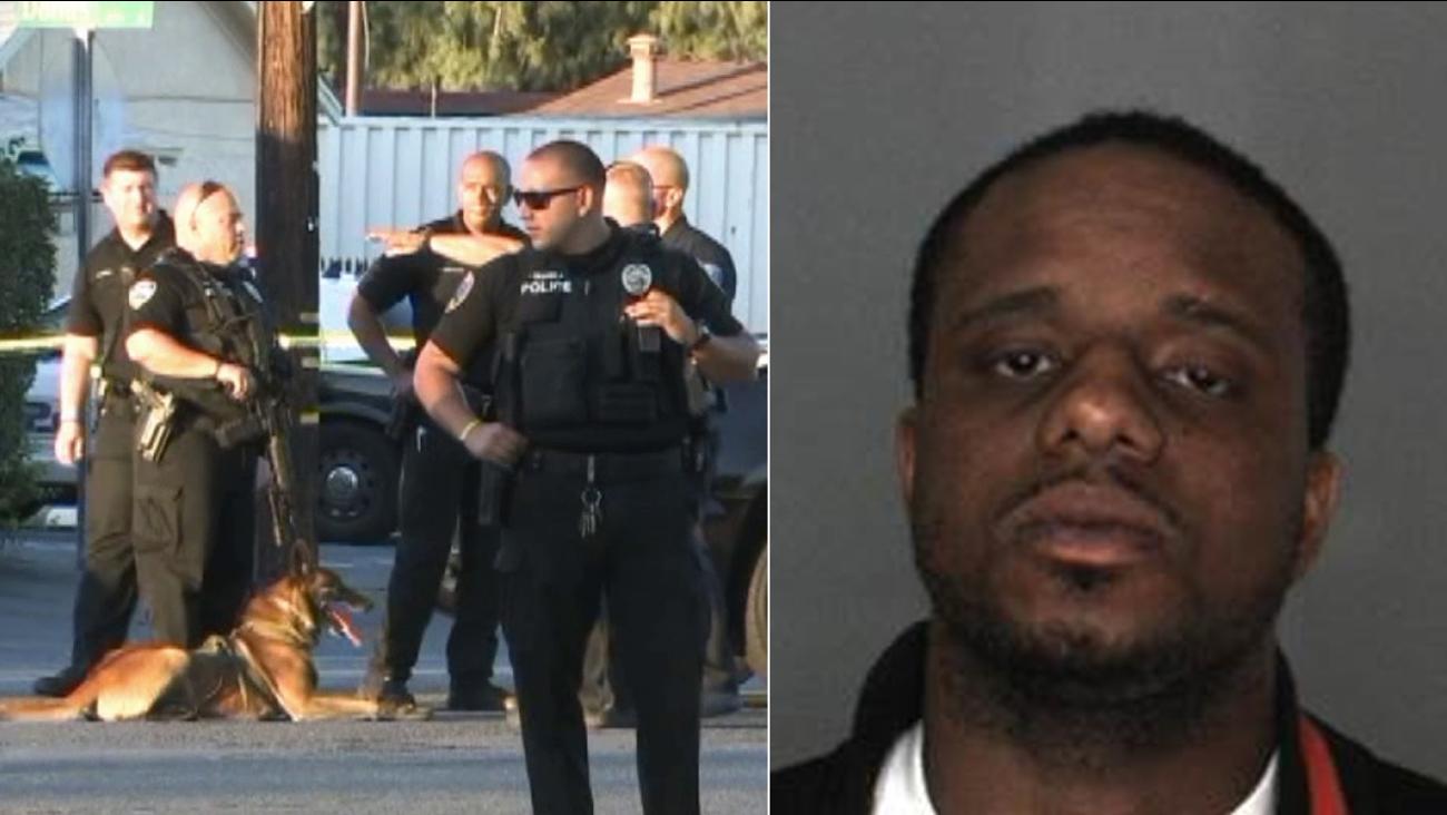 Arthur Felder, 28, was shot by police near Foothill Boulevard and Meridian Avenue in San Bernardino Saturday, Mar 2, 2015.