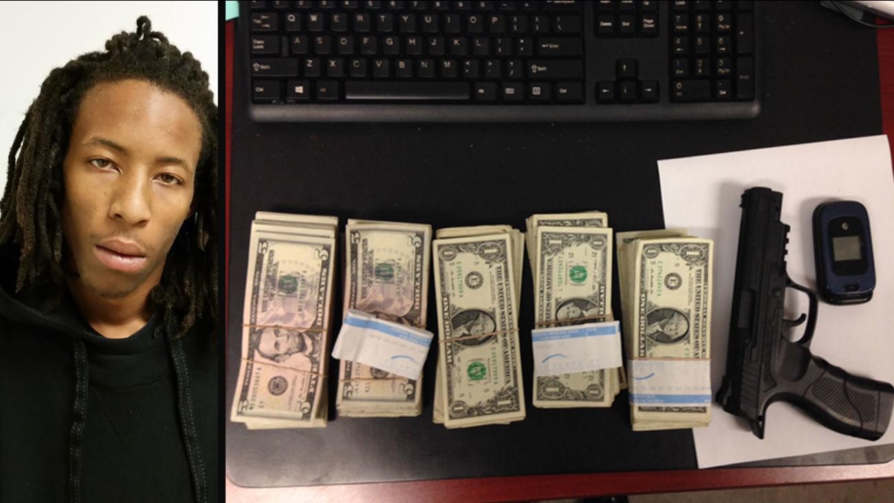 Visalia robbery suspect Joseph Jackson