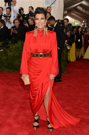 "<div class=""meta image-caption""><div class=""origin-logo origin-image none""><span>none</span></div><span class=""caption-text"">Kris Jenner arrives at The Metropolitan Museum of Art's Costume Institute benefit gala. (Photo by Evan Agostini/Invision/AP) (AP Photo)</span></div>"