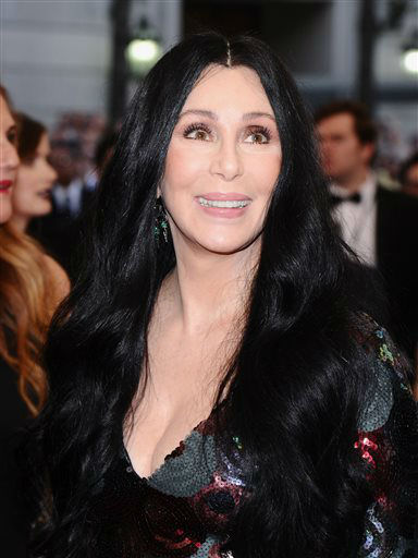 "<div class=""meta image-caption""><div class=""origin-logo origin-image none""><span>none</span></div><span class=""caption-text"">Cher arrives at The Metropolitan Museum of Art's Costume Institute benefit gala. (Photo by Charles Sykes/Invision/AP) (AP Photo/ Charles Sykes)</span></div>"